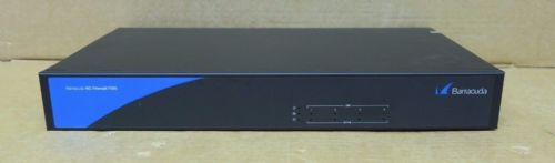 Barracuda NG NextGen Firewall F200 FW-6436B-BA1 Integrated Security Appliance